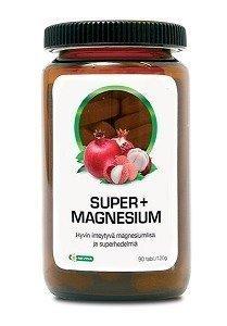 Super+ Magnesium 90 tablettia