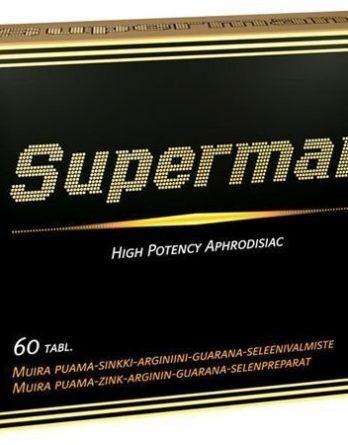Superman sukuviettiä kiihottava 60 tabl