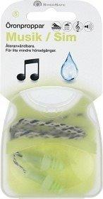 Swedsafe Musiikki / Uinti Korvatulpat Small 1 Pari
