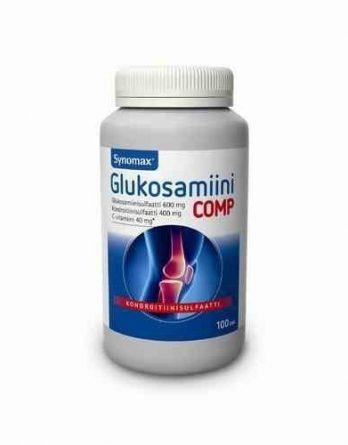 Synomax Glukosamiini Comp 100 tablettia