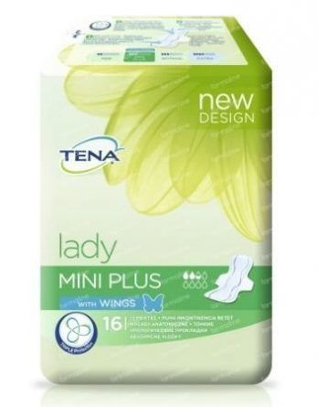 TENA Lady Mini Plus Wings 16 kpl