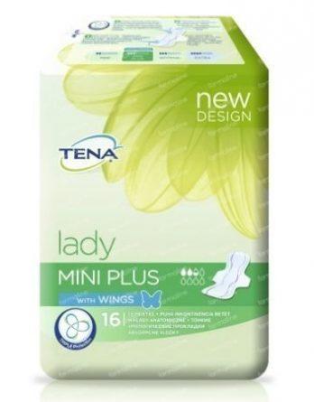 TENA Lady Mini Plus Wings 16 kpl