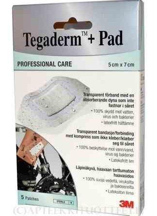 Tegaderm + Pad haavasidos 5 kpl