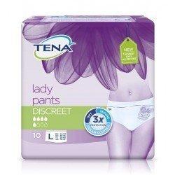 Tena Lady Pants Discreet Large 10 kpl