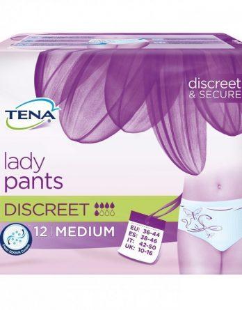 Tena Lady Pants Discreet Medium 12 kpl