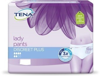 Tena Lady Pants Discreet Plus Large 10 kpl