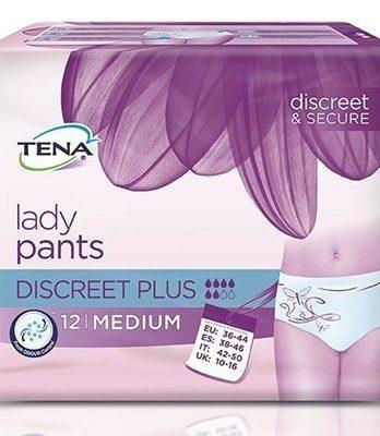 Tena Lady Pants Discreet Plus Medium 12 kpl