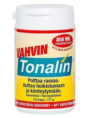 Tonalin Vahva rasvanpolttaja 120 kaps.