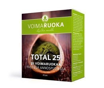 Total 25 -jauhe 120 g Voimaruoka