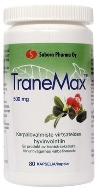 TraneMax Karpalovalmiste 80 kapselia