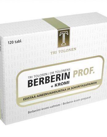 Tri Tolosen Berberin Prof + Kromi 150 tabl.