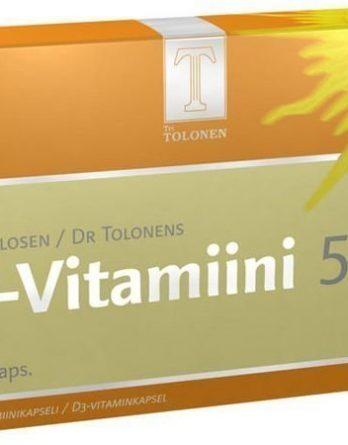 Tri Tolosen D-Vitamiini 50 µg 60 kaps