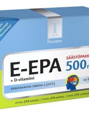 Tri Tolosen E-EPA 500 mg 120 kaps