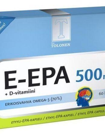 Tri Tolosen E-EPA 500 mg 60 kaps