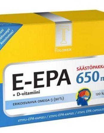 Tri Tolosen E-EPA 650 mg 120 kaps