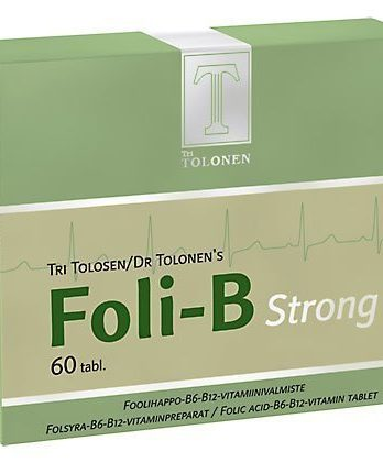 Tri Tolosen Foli-B Strong 60 tabl
