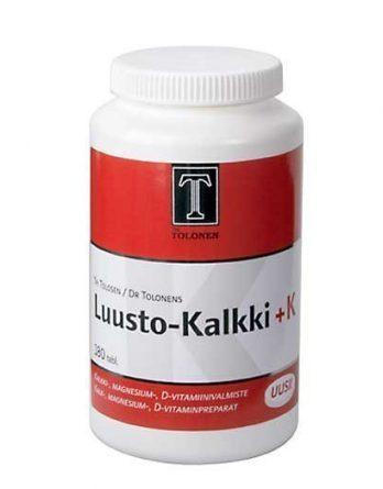 Tri Tolosen Luusto-Kalkki + K 180 tabl.