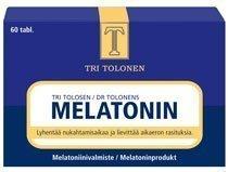 Tri Tolosen Melatonin 60 tablettia