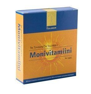 Tri Tolosen Monivitamiini 60 tabl.