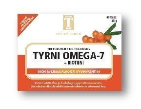 Tri Tolosen Tyrni Omega-7 + Biotiini 60 kaps