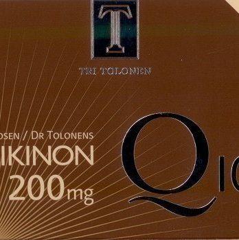 Tri Tolosen Ubikinon Q10 200mg 60 kapselia
