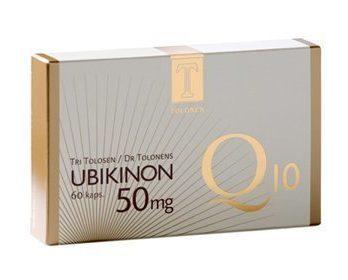 Tri Tolosen Ubikinon Q10 50 mg 180 kaps.