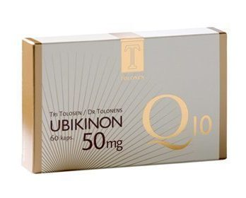 Tri Tolosen Ubikinon Q10 50 mg 60 kaps.