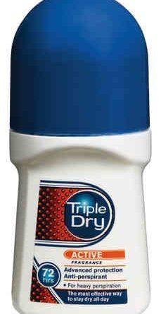 Triple Dry Active Men *