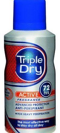 Triple Dry Active Men Spray 150 ml