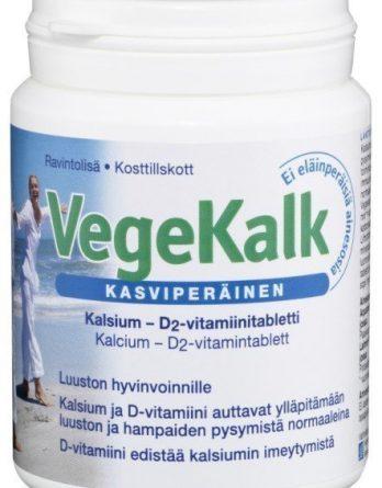 VEGEKALK kalsium - D2 - vitamiini 140 tabl.