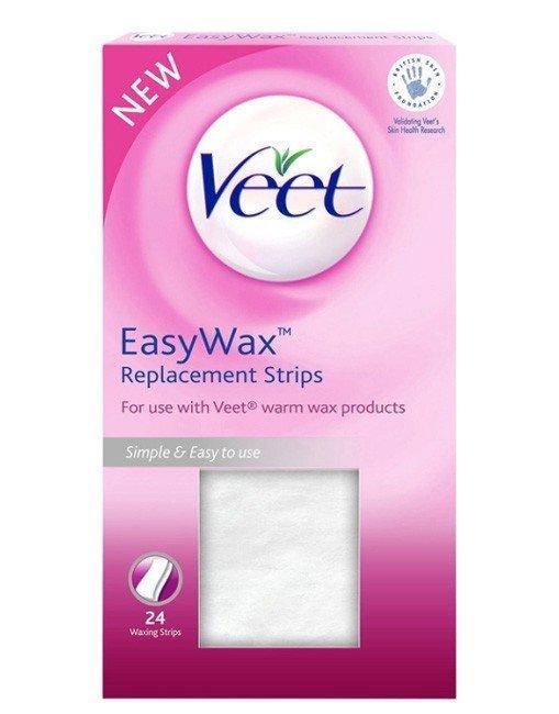 Veet Easywax Replacement Strips 24 kpl