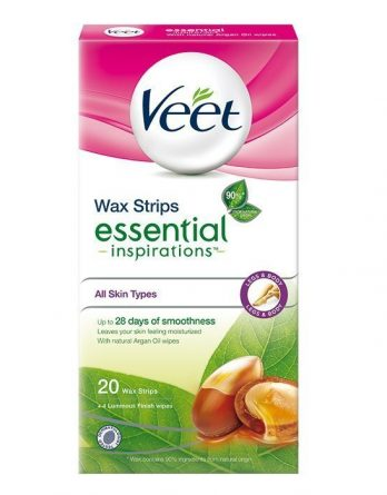 Veet Essential Inspirations Wax Strips Jaloille 20 kpl