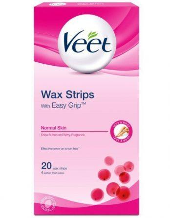 Veet Wax Strips Normaalille Iholle 20 kpl