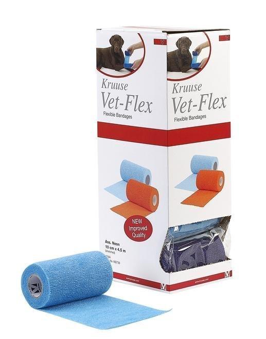 Vet-Flex/ Co-Flex Neonfärg 10 Cm X 4