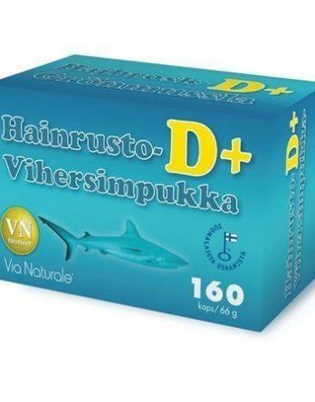 Via Naturale Hainrusto Vihersimpukka D+ 160 kaps