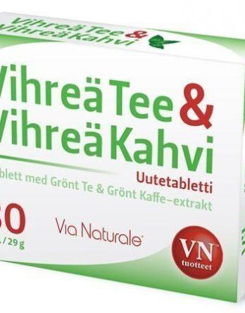Via Naturale Vihreä Tee & Vihreä Kahvi