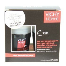 Vichy Homme Deo Roll-On 72h 2 Kpl Pakkaus