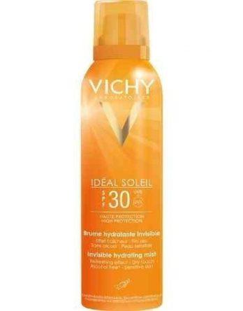 Vichy Idéal Soleil Invisible Hydrating Mist aurinkosuojasuihke SPF 30 200 ml
