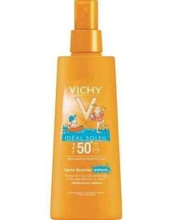 Vichy Idéal Soleil aurinkosuojasuihke lapsille SPF 50+ 200 ml