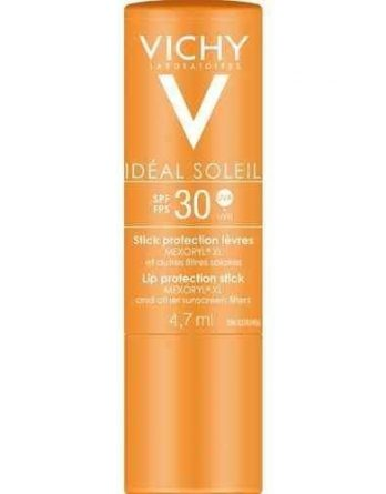 Vichy Idéal Soleil aurinkovoide huulille SPF 30 4
