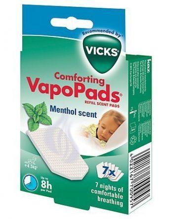 Vicks Comforting Menthol Doftpads 7 kpl