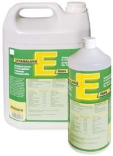 Vitabalans E-liuos 1 litra