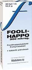 Vitabalans Foolihappo 400 µg 30 tabl.