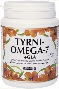Vitabalans Tyrni-Omega-7 + GLA 150 kaps.