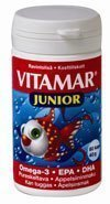 Vitamar Junior omega-3 60 kaps.