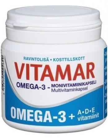 Vitamar Omega-3 + ADE 100 kaps