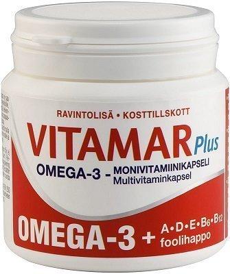 Vitamar Plus Omega-3+ADE+B 100 kaps.