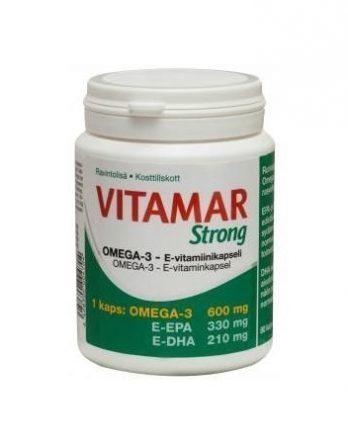 Vitamar Strong Omega-3 E-vitamiinikapseli 80 kaps