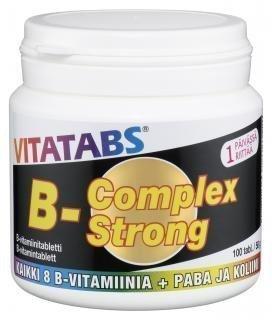 Vitatabs B-Complex Strong 100 tabl.