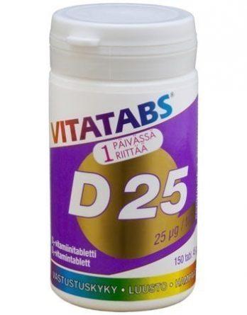 Vitatabs D 25